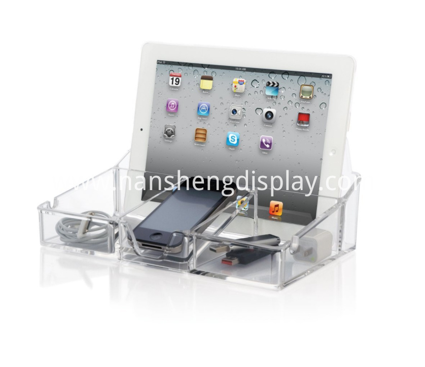 Clear Acrylic Electronics Display