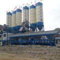 Portable 50m3 mini mix concrete batching plant Germany