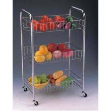 China for Storage Cart Portable 3 Tier Storage Cart supply to South Korea Manufacturer