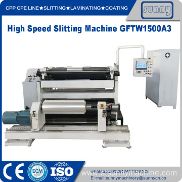 High Quality for Best Automatic Horizontal Slitting Machine,Horizontal Slitting Rewinder Machine for Sale Slitter Rewinder Machinery for plastic film export to India Manufacturer