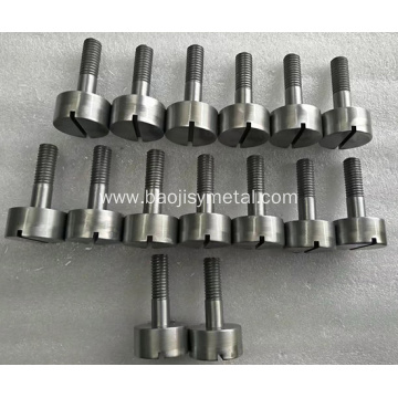 Pure Molybdenum Slotted Screw price