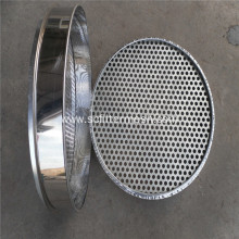 Stainless Steel Perforated Metal Standard Testing Sieve
