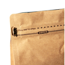 500G Custom Print Zipper Coffee Paper Box Bag