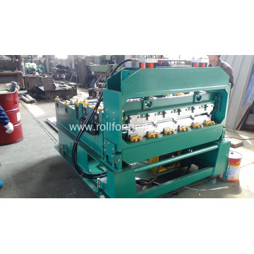 Metal Roof Sheet Crimping Curving Roll Forming Making Machine