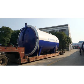 Pneumatic Glass Laminating Autoclave Glass Reactor