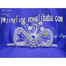 Crystal crowns for beauty queen