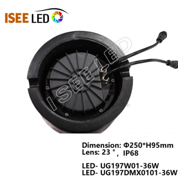 RGB DMX COB Led Underground Lamp Light