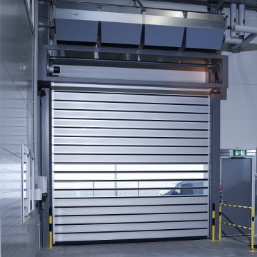 Anti-wind 40mm Thickness Panel Rapid Spiral Door