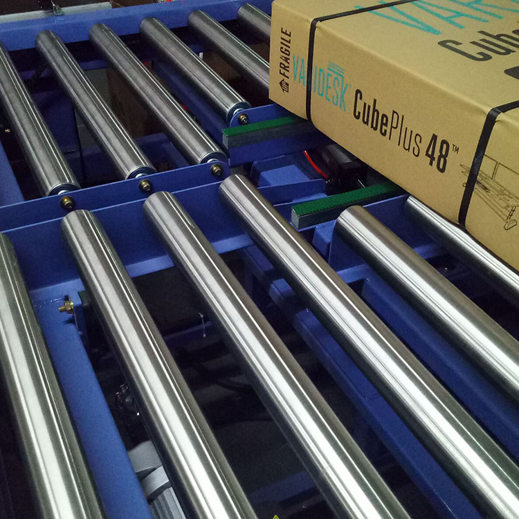 Motorized Roller Conveyor for Packing Line