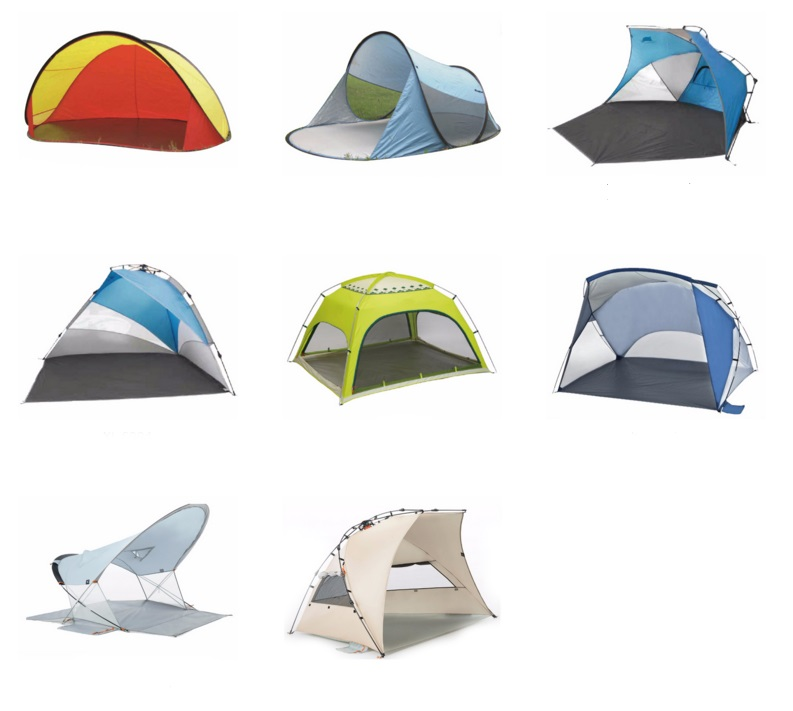 Wholesale Beach folding outdoor tent different style available