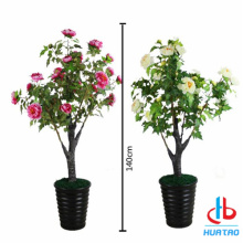 Artificial Common Peony Potted Plant