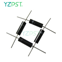 Anti-corrosion epoxy package diode for microwave