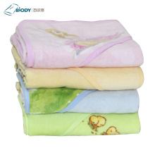 Gauze Fabric Terry Kid Blanket For Newborn
