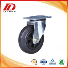 Top for Light Duty Industrial Caster 5'' industrial caster with rubber wheel export to Tuvalu Supplier