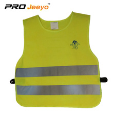 Kids Hi Vis Yellow Warning Reflective Safety Vest