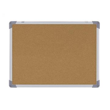 Office Wall Mounted Cork Board With Aluminum Frame