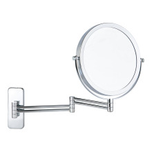 Four-arms wall mounted extending bathroom mirror