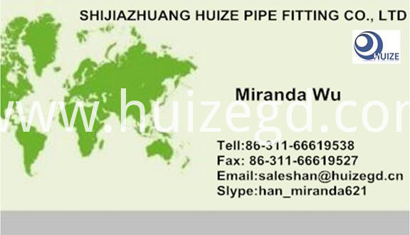 NPT Thread Coupling business card