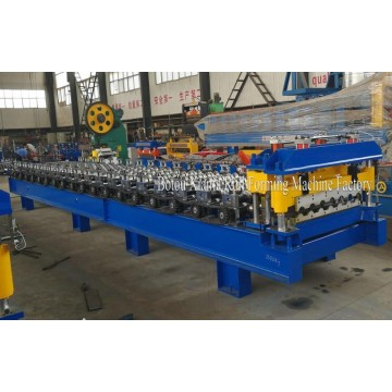 Glazed Aluminum Steel Roof Roll Forming Machine