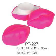 Plastic Cosmetic Empty Pot Container