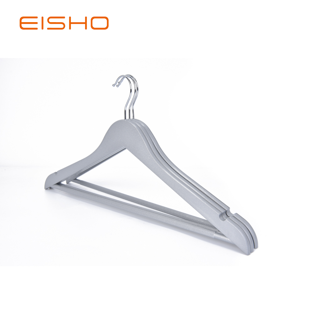 Eisho Solid Wood Black Laundry Wooden Shirts Hanger 7