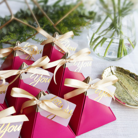 Wedding luxury favor boxes
