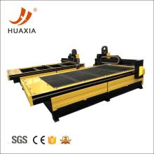 CNC plasma cutting table cut steel