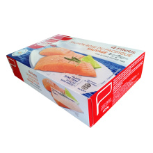 China Gold Supplier for Disposable Food Box Cardboard Paper Food Box  Frozen Food Package export to Philippines Wholesale