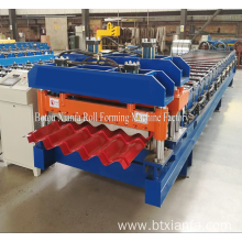 Leading for Glazed Tile Roll Forming Machine,Antique Glazed Tile Roll Forming Machine,Automatic Glazed Tile Roll Forming Machine Manufacturers and Suppliers in China Hot Color Steel Glazed Roll Forming Machinery supply to Suriname Importers