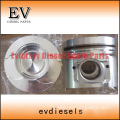 KOMATSU engine parts piston 6D95 piston ring