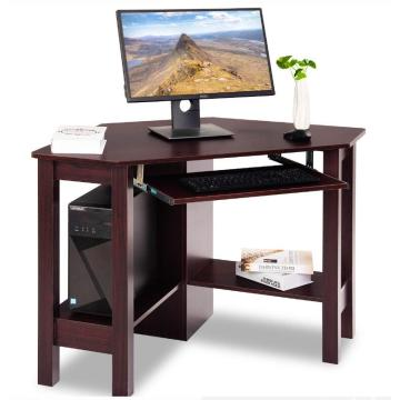Wooden Office Counter Side Table Design