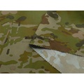 Elastic Polyester Army Woodland Camouflage Fabric