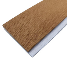 Light Brown & White Marine EVA Faux Teak Strip