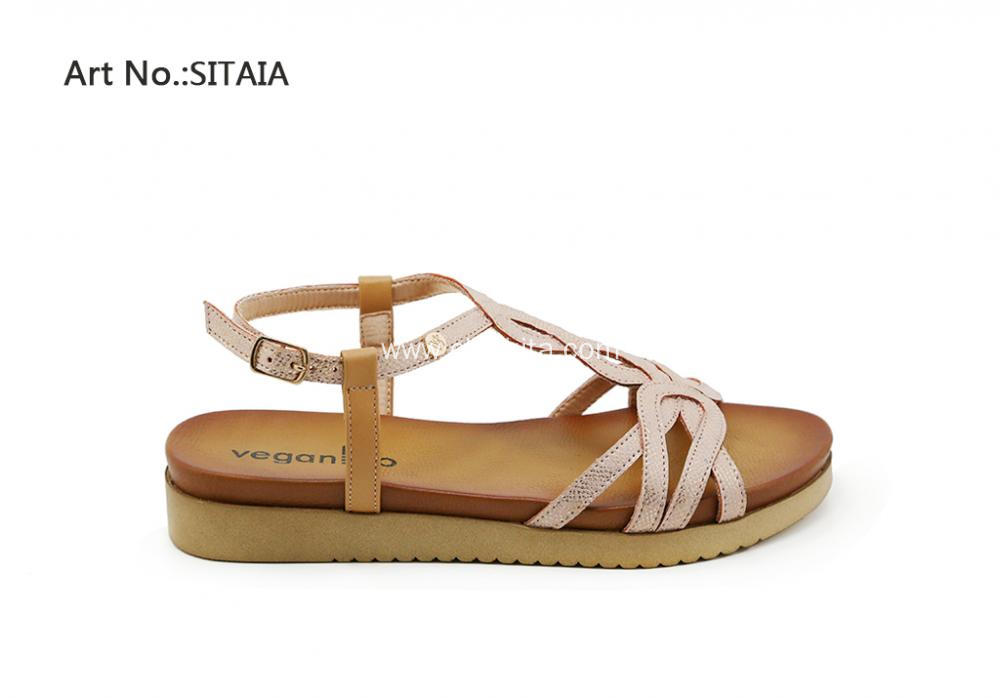 Summer Women Flat Strappy Sandals Shoes
