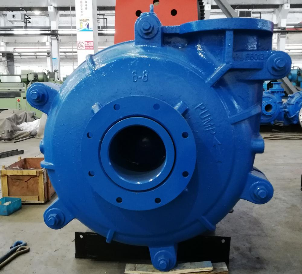 8/6R-AH High Duty Slurry Pump