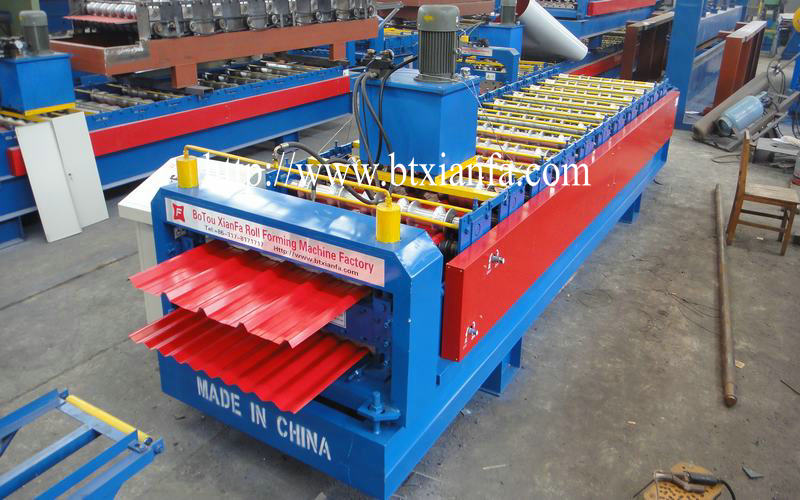 roll forming machine for cold