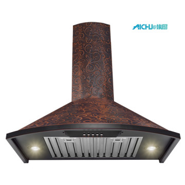 Convertible Wall Mount in Embossed Kitchen Range Hood