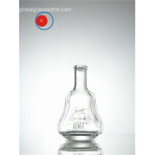 Special Shape Glass Bottle with Screen Printing