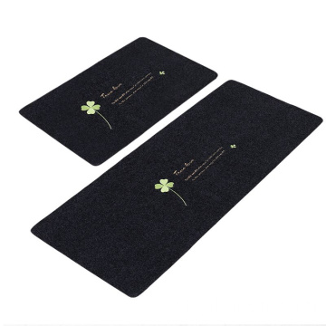 Best selling embroid mats design moderno