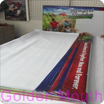 2017 New Printing Technology with Outdoor PVC Banners