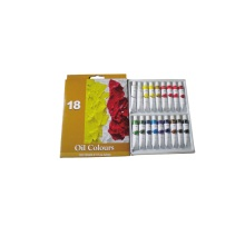 20 Years manufacturer for Oil Color 18 Colors Student Oil Paint set supply to France Metropolitan Factories