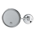 Hotel Bathroom Wall Mount Magnifying Mirror Led