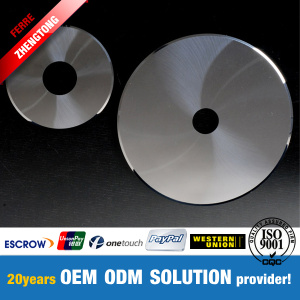 Carbide Circular Knife for Filter Cutting 100x15x0.3mm