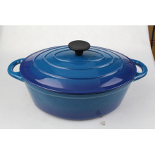 Enameled Cast Iron Dutch Oven for cooking
