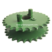 AA49877 Sprocket assembly 28-28 tooth cluster with bearings