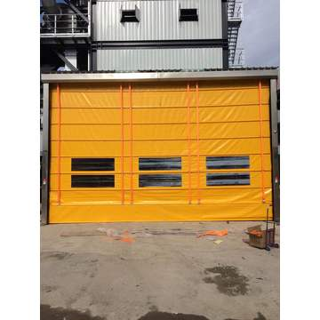 220V PVC see through rolling door