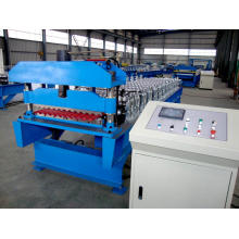 Best Price on for Glazed Tile rollform machine Corrugated Steel Metal Roof Sheet Panel Forming Machine supply to China Hong Kong Manufacturers