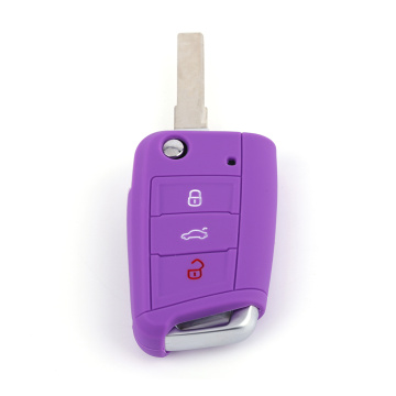 Top Quality Silicone Car Key Case VW