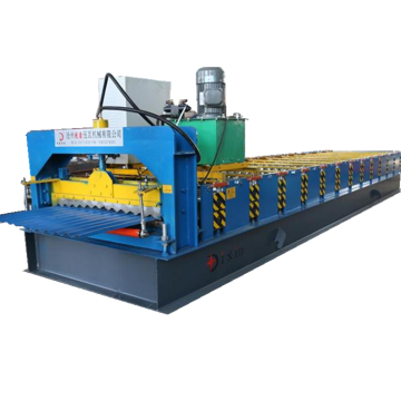 Corrugated Steel Sheet Wall Panel Making Machine