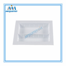 Factory Price for White Cutlery Tray Drawers 400Mm Plastic Cutlery Tray Inserts export to France Suppliers